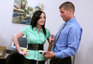 Melissa Lauren & Chris Johnson in Naughty Office story pic