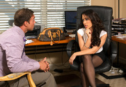 Capri Cavanni & Rocco Reed in Naughty Office - Sex Position 1