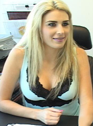 Co-worker & Married Woman Porn Video with Blonde and Blow Job scenes