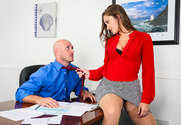 Dani Daniels & Johnny Sins in Naughty Office - Sex Position 1