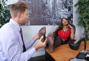 Diamond Jackson & Peter Green in Naughty Office