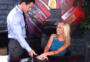 Dylan Riley & Talon in Naughty Office - Sex Position 1