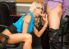 Emma Starr & Seth Gamble in Naughty Office - Centerfold