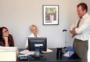 Barbara Summers & Eva Angelina & Randy Spears in Naughty Office story pic