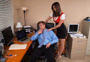 Holly Michaels & Bill Bailey in Naughty Office story pic
