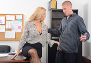 Holly Heart & Richie Black in Naughty Office - Sex Position 1