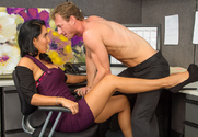 Isis Love & Ryan McLane in Naughty Office - Sex Position 1