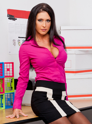 Jessica Jaymes & Tony DeSergio in Naughty Office - Centerfold