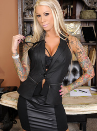 Lolly Ink  & Billy Glide in Naughty Office - Centerfold