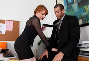 Marie McCray & Jordan Ash in Naughty Office - Sex Position 1