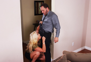 Nicki Hunter & Alec Knight in Naughty Office - Sex Position 1