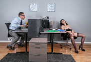 Olive Glass & Johnny Castle in Naughty Office