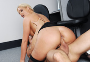 Phoenix Marie & Alan Stafford in Naughty Office - Sex Position 2