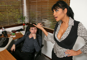 Priya Anjali Rai & James Deen in Naughty Office - Sex Position 1