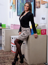 Rachel Roxxx & Johnny Castle in Naughty Office - Centerfold