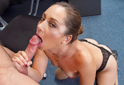Remy LaCroix & Johnny Castle in Naughty Office sex pic