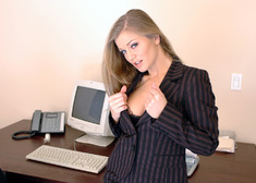 Rita Faltoyano & Joey Ray in Naughty Office - Centerfold