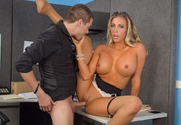 Samantha Saint & Xander Corvus in Naughty Office - Sex Position 2