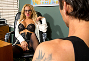 Sarah Jessie & Alan Stafford in Naughty Office - Sex Position 1