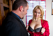 Sarah Vandella & Alec Knight in Naughty Office