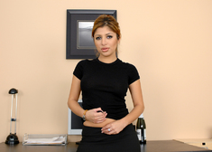 Sativa Rose, Herschel Savage & Randy Spears in Naughty Office - Centerfold
