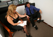 Shyla Stylez & Alan Stafford in Naughty Office story pic