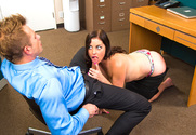 Sovereign Syre & Bill Bailey in Naughty Office - Sex Position 2