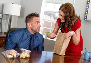 Tina Kay  & Johnny Castle in Naughty Office - Sex Position 1