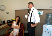 Vanessa Lane & Jack Lawrence in Naughty Office story pic