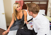 Kennedy Leigh & Bill Bailey in Naughty Rich Girls - Sex Position 1