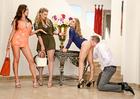 Nicole Aniston, Nikki Benz & Phoenix Marie - Sex Position 1