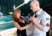 Ava Devine & Johnny Sins in Seduced by a cougar - Sex Position 1