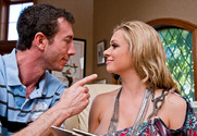 Briana Banks & Jordan Ash in Seduced by a cougar - Sex Position 1