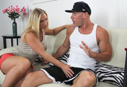 Devon Lee & Johnny Sins in Seduced by a Cougar - Sex Position 1