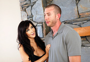 Diana Prince & Jordan Ash in Seduced by a Cougar - Sex Position 1