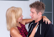 Erica Lauren & Danny Wylde in Seduced by a Cougar - Sex Position 1