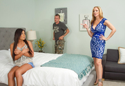 Julia Ann, Gianna Nicole  & Mr. Pete in Seduced by a Cougar - Sex Position 1