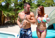 Janet Mason & Johnny Castle in Seduced By A Cougar story pic