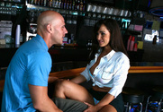 Lisa Ann & Johnny Sins in Seduced by a cougar - Sex Position 1