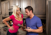 Puma Swede & Johnny Castle in Seduced By A Cougar story pic