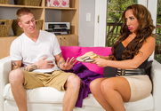 Richelle Ryan & Richie Black in Seduced by a Cougar - Sex Position 1