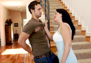 Sandy Beach & Rocco Reed in Seduced by a Cougar - Sex Position 1
