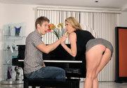 Tiffany Mynx & Danny Wylde in Seduced By A Cougar story pic