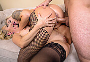 Aaliyah Love & Nina Elle & Mr. Pete in 2 Chicks Same Time