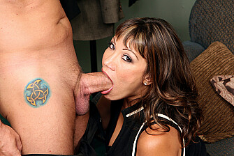 Ava Devine fucking in the couch with her big tits - Sex Position 2