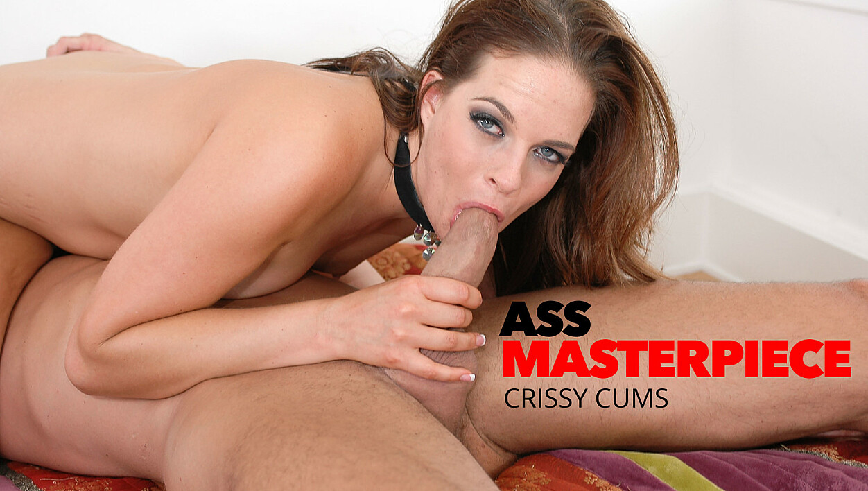 Crissy Cums takes a big cock