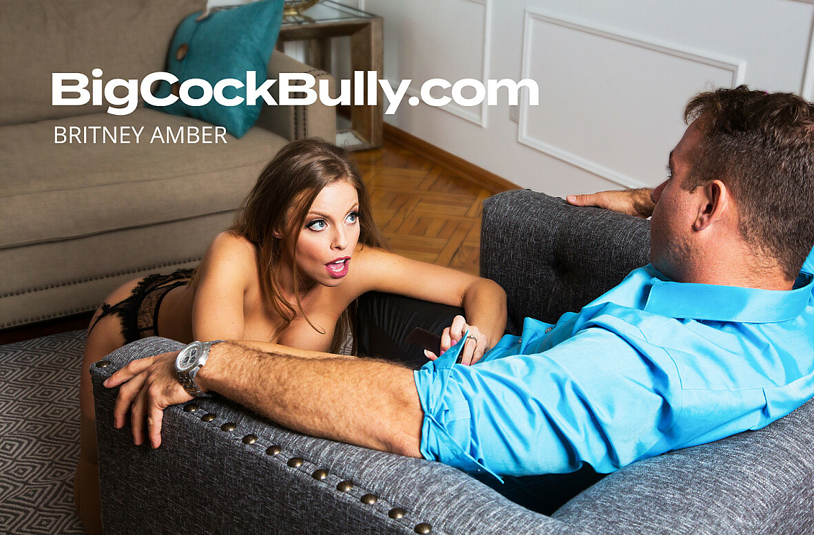 Watch Britney Amber and Chad White 4K video in Big Cock Bully