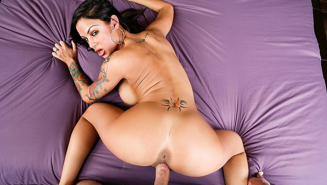 Hot Latina wife Angelina Valentine fakes sick, blows you for real!