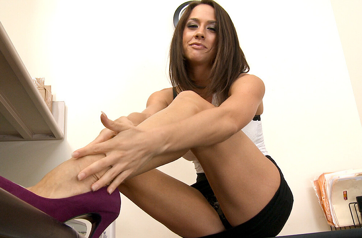 Watch Chanel Preston video in Live Naughty Secretary