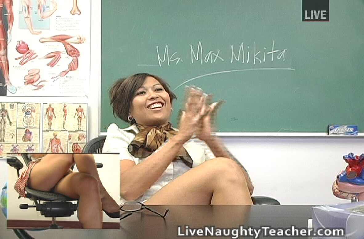 Watch Max Mikita video in Live Naughty Teacher